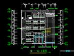 五层综合楼建筑施工图全套