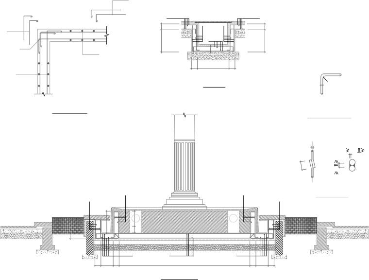 滨海住宅区别墅景观规划设计施工文本-结构详图2