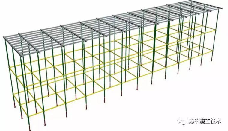 数字化可伸缩钢龙骨装配式顶板模板施工技术