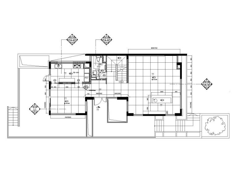 [苏州]梁志天设计——中式风格别墅室内装修施工图附软装方案