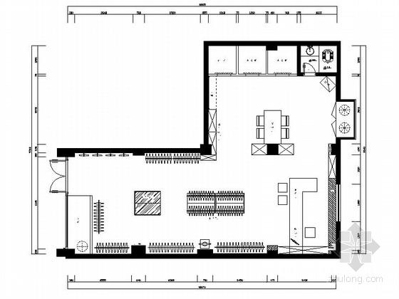 [厦门]现代时尚服饰店设计CAD施工图(含实景)