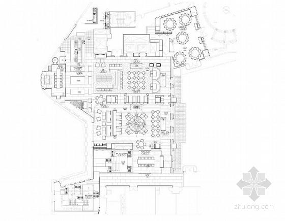 国际五星级奢华酒店意大利餐厅室内概念设计方案
