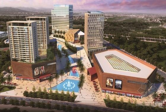 [广东]现代风格文化体育活动中心规划设计方案文本