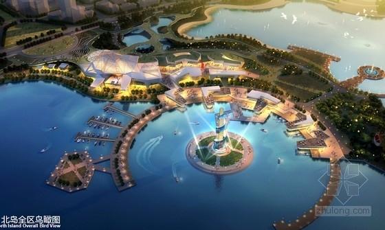 [上海]滨水城市综合体及单体设计方案文本(中英对照)