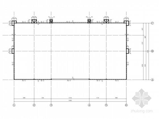 4层售楼处钢结构施工图