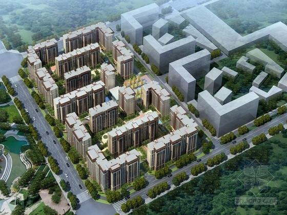 [成都]纯净主义风格高层住宅区规划设计方案文本