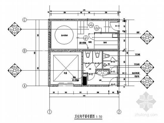 43平方卫生间改造设计方案