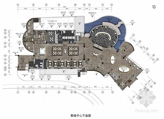 [廣東]名師設計現代風格售樓處及樣板間室內裝修設計方案
