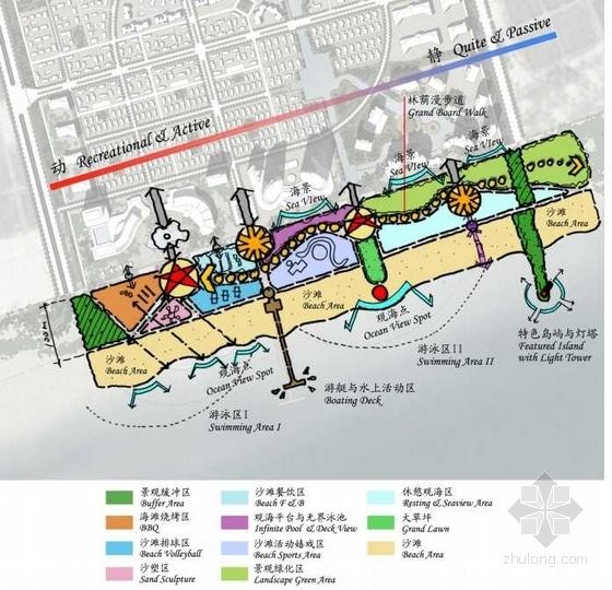 [海南]海景公寓景观初期概念规划深化设计-平面图