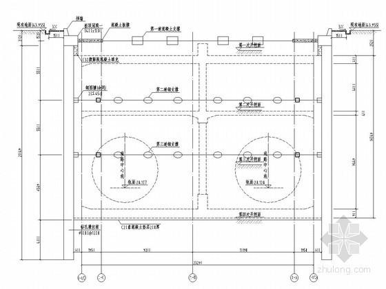 [湖南]20米深基坑开挖支护施工方案(排桩 钢支撑 预应力锚索)