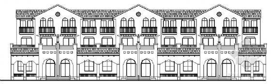 某三层联排别墅设计方案 2号、11号楼