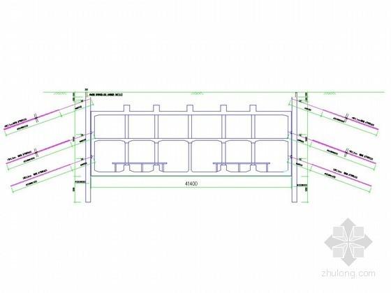 [北京]地铁明挖基坑灌注桩加锚杆支护施工方案(鲁班奖工程)