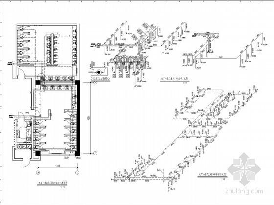 [三亚]酒店室内装饰给排水施工图设计