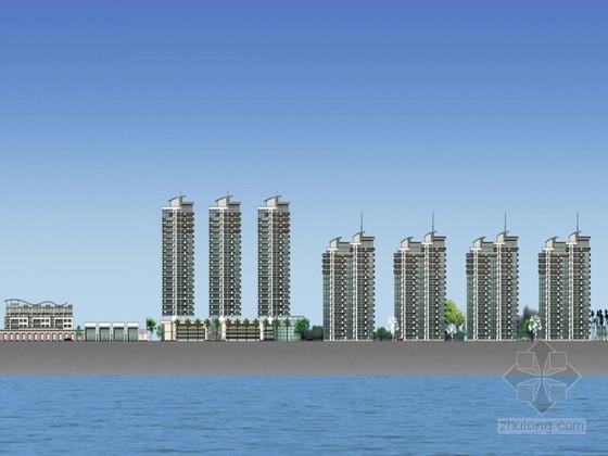 [浙江]现代风格住宅区规划设计方案文本(含CAD)