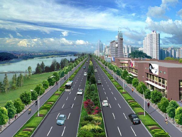 市政道路工程测量放线