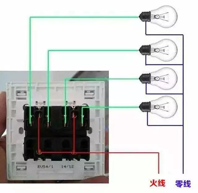 家庭电路控制系统大全,开关控制电路大全,值得收藏!_6