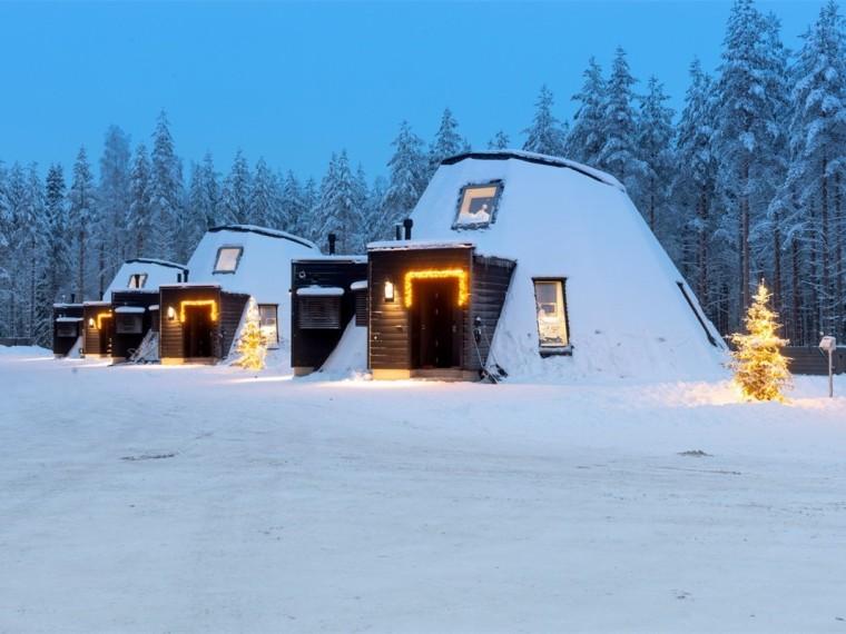 芬兰度假木屋酒店