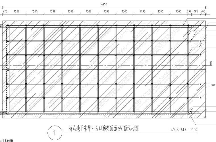特色车库廊架设计详图——泛亚景观