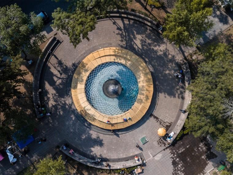 墨西哥城市玩具互动喷泉装置