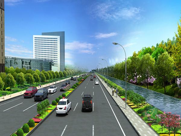 交通工程专业道路毕业设计