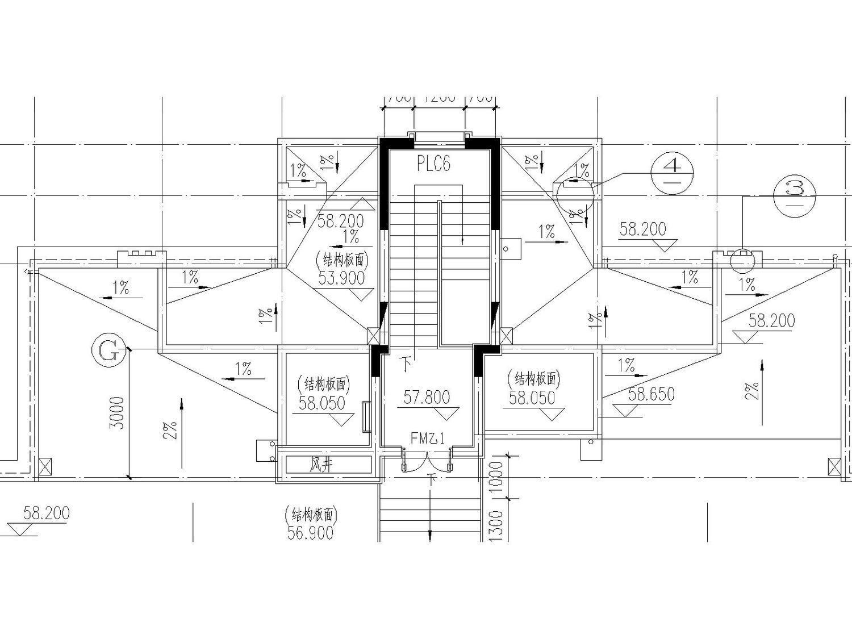 [宁夏]银川市金溪里30层小区建筑150张全套施工图(建筑、结构、水暖电应有尽有)_4