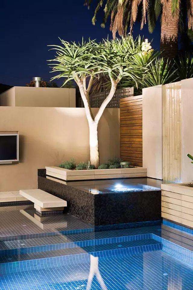 赶紧收藏!21个最美现代风格庭院设计案例_168