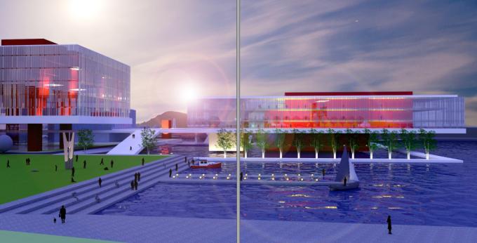 [江苏]滨江现代低碳示范区山水田园城市规划景观设计方案_4