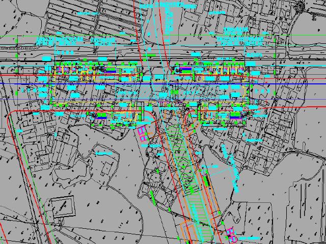 站厅通道换乘地下两层岛式站台车站主体及附属建筑设计图纸103张CAD(含四小件装饰)