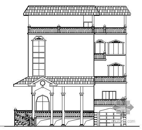 某五层小别墅建筑方案图