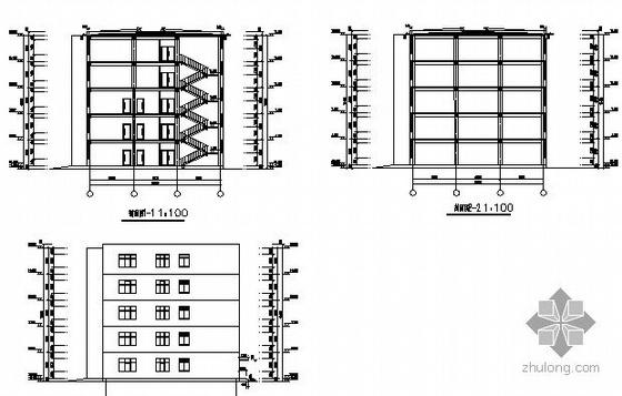 [沈阳]某五层中学教学楼建筑施工图-2