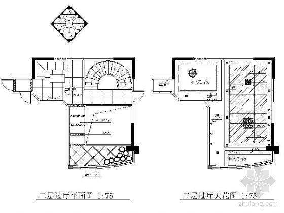 豪华别墅过厅装修详图