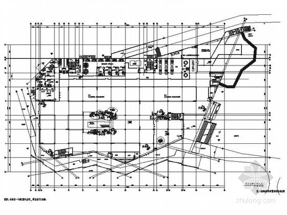 [重庆]4000万现代规划展览馆室内装修施工图