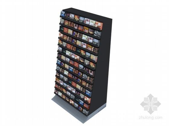音像店中岛3D模型下载