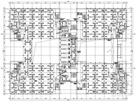 [湖北]大学图书馆空调通风设计施工图(详图较多)