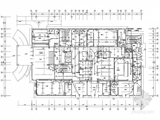 八层医院门诊住院综合楼电气施工图纸