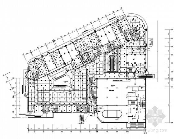 27层大型商业办公综合建筑全套电气施工图105张