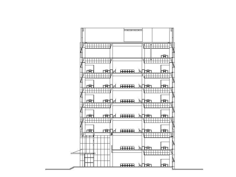 [江苏]启东市行政综合服务中心建筑施工图设计
