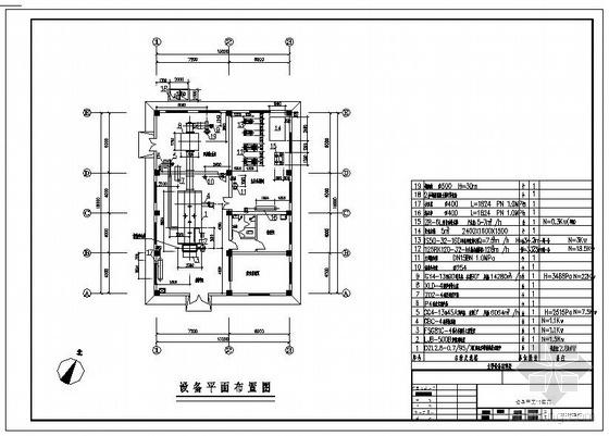 4吨燃煤锅炉房图
