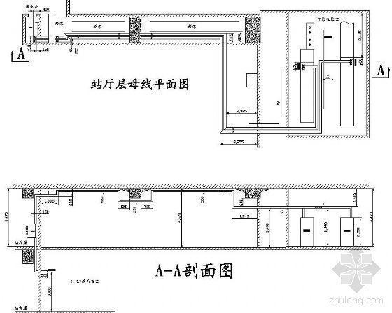 广州某地铁站母线图纸