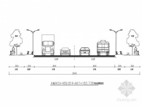 城市道路连接线改建工程施工图(二级公路)