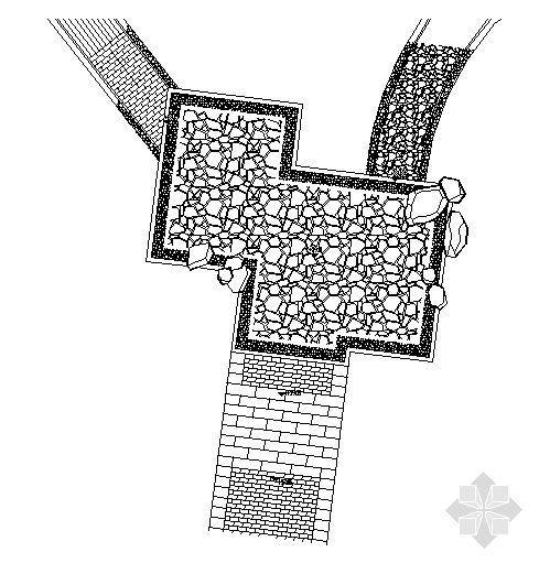 广场铺装及做法详图2