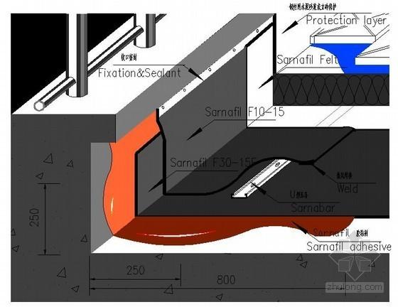 渗耐空铺系统(上人屋面防水做法示意图)