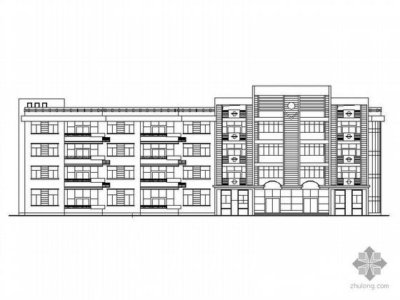 [宁德]某四层12班幼儿园建筑施工图