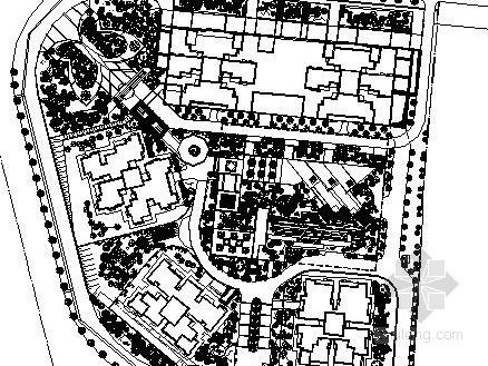 [四川]泸州小区景观规划设计施工图