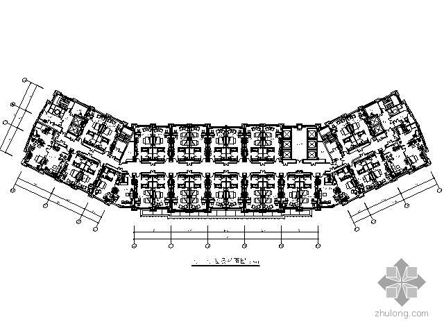 [苏州]国际花园式酒店客房部施工图