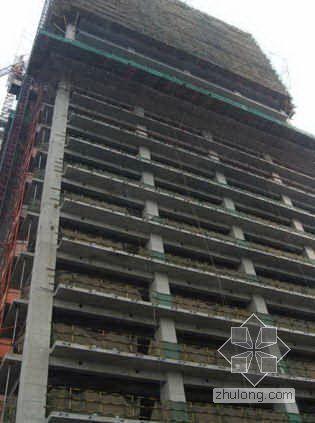 上海某商务中心创鲁班奖工程施工质量汇报(PPT 图文并茂)