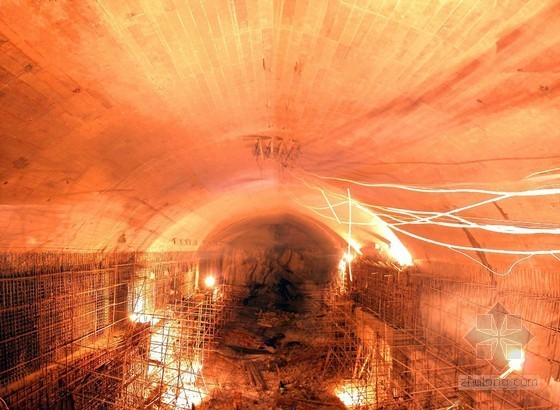 [浙江]抽水蓄能电站地下厂房及尾水系统土建工程技术标(地下洞室群 节点图丰富)