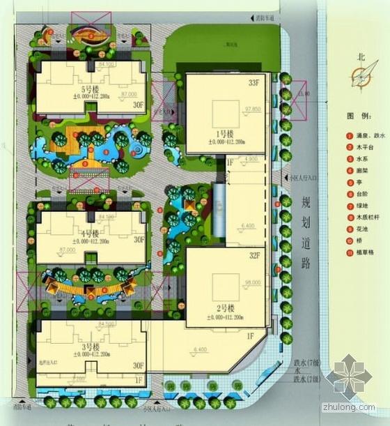 西安小区景观设计方案文本
