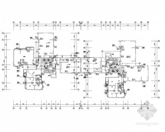 [四川]某大型综合高层小区给排水全套施工图(含10栋楼、地下室)