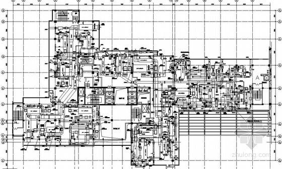 ICU通风设计资料下载-某手术部空调通风图纸
